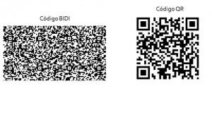 Código BIDI y Código QR