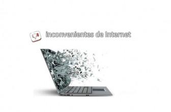 Los inconvenientes de Internet ¿Cuáles son?