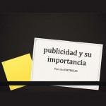 publicidad y su importancia