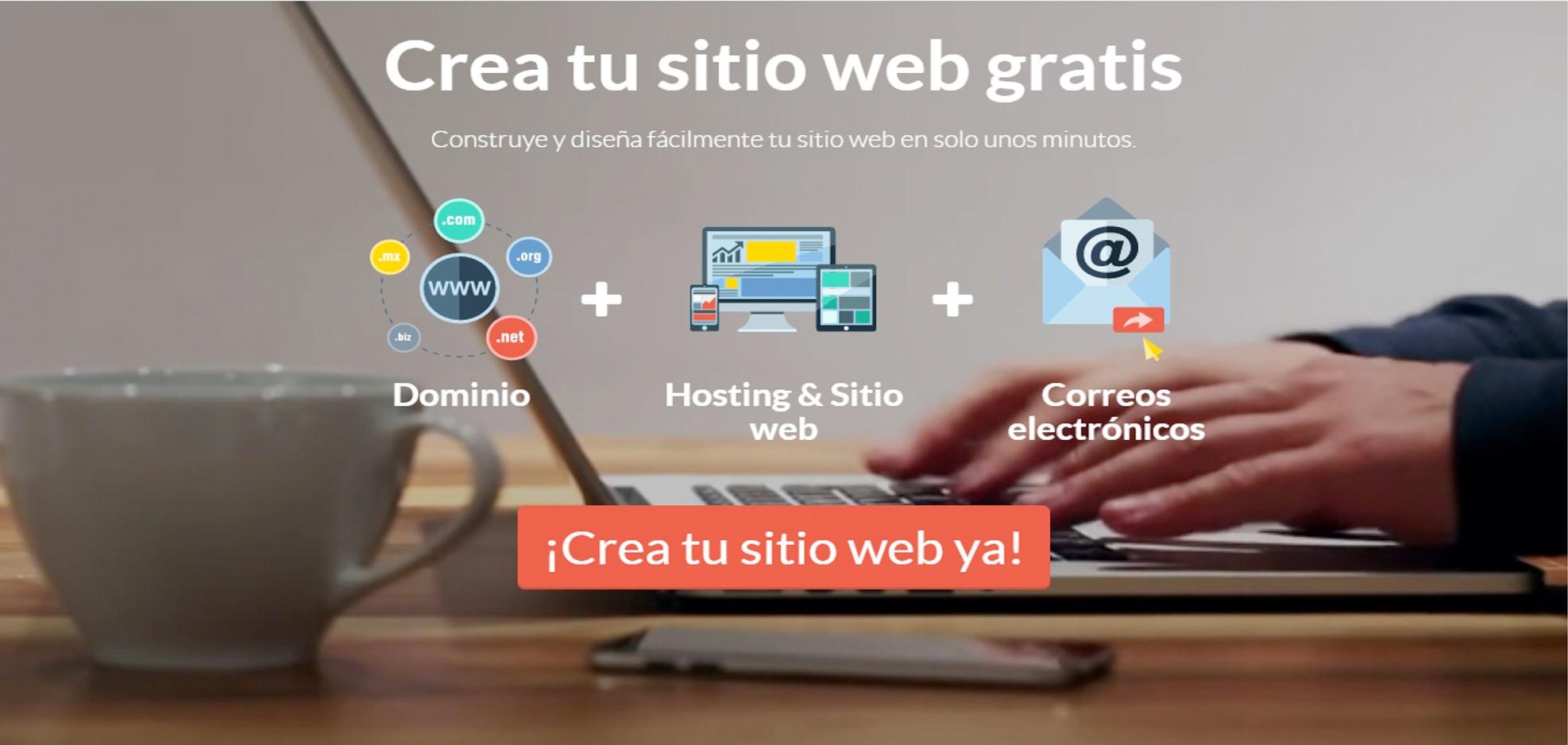 crear una web gratis. Ventajas y desventajas